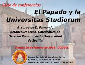 Conf Papado y Universidad