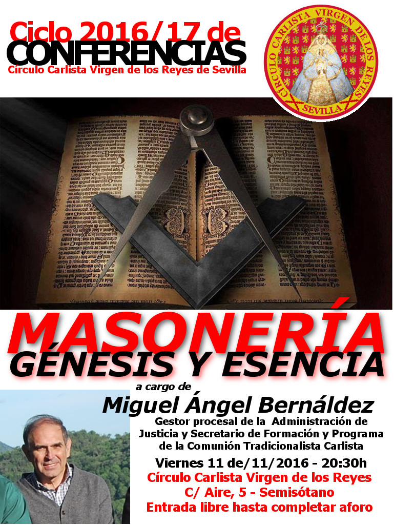 Conferencia sobre la Masonería
