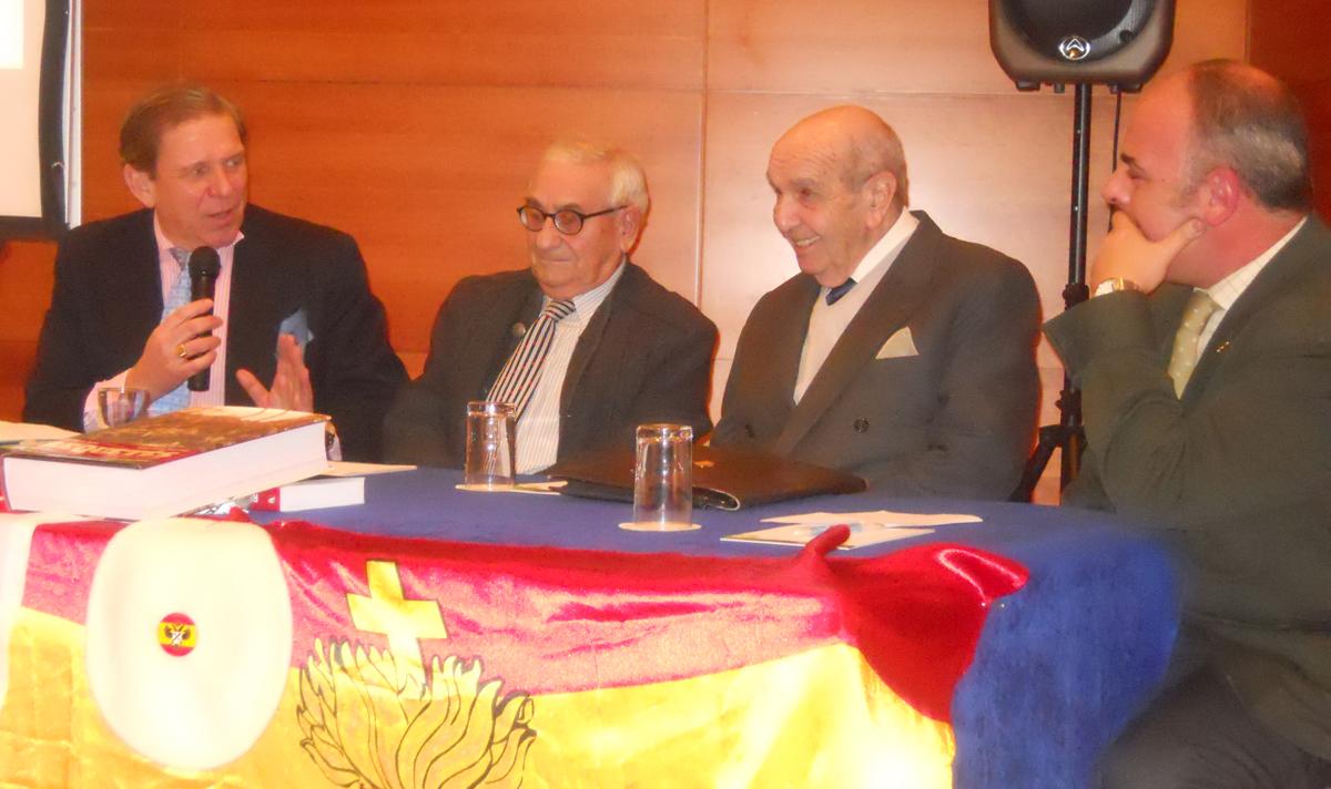 Luis Hernando de Larramendi, José Herrera, Sixto de la Calle y Manuel Chacón-Manrique de Lara